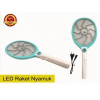 RAKET NYAMUK CAHAYA Rechargerable LED (Random)