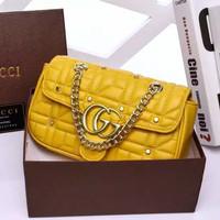 Tas Gucci Like Original Bahan Premium Tas Import Kualitas Dijamin - Yellow