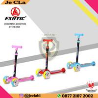 Scooter / Skuter / Otoped Roda Tiga EXOTIC HB-002 Mainan Anak