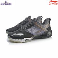Limited Sepatu Badminton Lining AYZQ009 / AYZQ-009 Sonic Boom OP Black