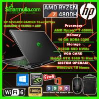 HP Pavilion Gaming 15-ec1076ax Ryzen 7-4800H GTX 1660Ti Max Q 512GB SS