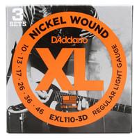 Daddario EXL 110 0.10 Senar Gitar Elektrik String ORI Original Dadario