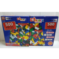 Mainan Anak LeeeGooo Brick Isi 500 Pcs - Building Block