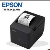 TM-T82X dilengkapi dengan drop-in pemuatan kertas, auto cutter