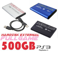 Hardisk ps3 full game 500gb - hdd ps 3 fullgame 500gb bergaransi