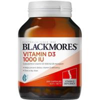 Vitamin D3 1000iu Blackmores 200 capsuls asli australia