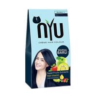 NYU Creme Hair Colour - Blue Black