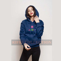 sweater hoodie BTS ARMY DYNAMITE - rifki collection jaket bts trending