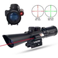 Riflescope M8 LS3.5-10x40E Red Laser Sight