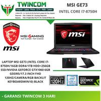 LAPTOP MSI GE73 (INTEL CORE I7-8750H GAMING GAMER