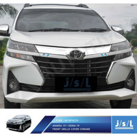 JSL Cover Grill Avanza / Xenia 2019 Front Grille Chrome