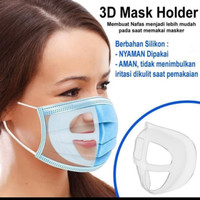 Masker Bracket Penyangga Masker Mask Bracket Nyaman Pakai Rangka Sangg