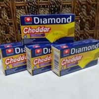 Keju Diamond Cheddar Cheese; 180 gram