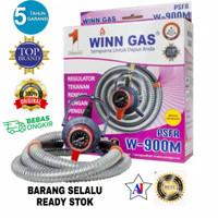 Kompor Paket Regulator+Selang Winn Gas W900M