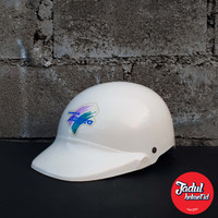 Helm Halfface Honda Astrea Jadul Klasik Lawas / Trx Nsx Kiwi DMI Grand