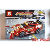 Lego senbo miniatur Mobil sport