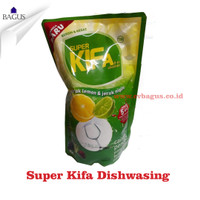Super Kifa Sabun Pencuci Piring Lemon Jeruk NIpis 800ml