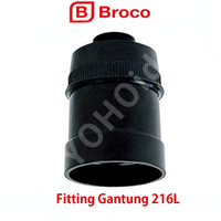 BROCO NG FITTING GANTUNG FITTING LAMPU 216L