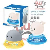 Whale Spray UFO Mainan Mandi Anak Bayi