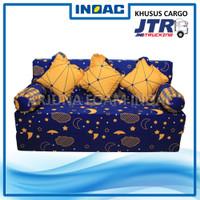 Sofa Bed Busa INOAC 200x160x20 cm Garansi 10th Ekspedisi CARGO