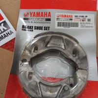 Kampas Rem Belakang Aerox / Lexi / Free Go / Mio M3 Original Yamaha