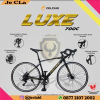 Sepeda Balap Road Bike CELCIUS LUXE Alloy 700c
