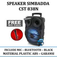 Speaker Simbadda CST 838N ( Bluetooth, Aux in, Mic )