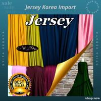 Kain jersey korea. spandek import. bahan kaos meteran