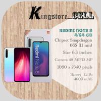 REDMI NOTE 8 4/64 GB - RESMI - Random