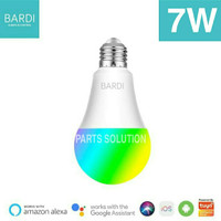 BARDI LED Lampu Rumah Smart Light Bulb Wifi Warna RGB+WW 7W 7 Watt