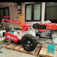 Traktor QUICK ZENA Rotary Lengkap Diesel Kubota