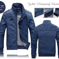 Jaket Mayer Adidas Pria waterproof anthem distro casual motor premium