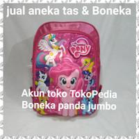 tas sekolah anak tk sd 3D timbul ransel kuda poni pony (jual boneka jg