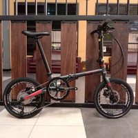 SEPEDA LIPAT PACIFIC CONTACT 16 INCH 9 SPEED