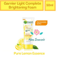 Face Wash Garnier Light Complete Brightening Foam Lemon Essence 50ml