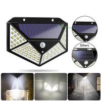 Lampu LED Taman Dinding Outdoor Panel Surya Solar Motion Detection