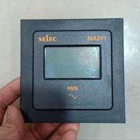 DIGITAL AMPERE METER SELEC MA201 AC METER 1Phase 2 Wire amperemeter 1p