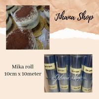 Plastik Mika Roll pinggiran Cake 10cm x 10meter