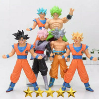 action figure dragon ball 1 set isi 6pcs