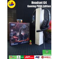 Headset Gaming G4 Sound Expert - Mobile / PC Headset Gaming - Hitam
