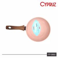 CYPRUZ FP0692 PENGGORENGAN MARBEL TEFLON COATING FRYPAN MINI 16CM