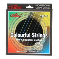 Senar Gitar Klasik Pelangi Alice A407C Colorful Strings