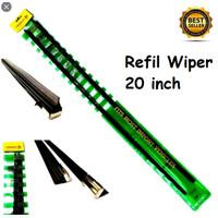 Refil Refill Karet Wiper Isi ulang Wiper Depan Ukuran 20 inch ISI 2