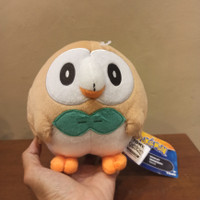 boneka pokemon rowlet new ori takara tomy with tag