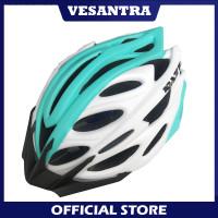 Raze R77 Helm Sepeda MTB SELI Roadbike 56-60cm ML Putih Biru