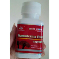Ganoderma Plus Capsule Green World/Obat Kanker