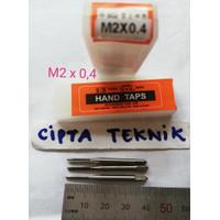 Hand Tap HTD M2 x 0,4 - Handtap HTD M2x0.4