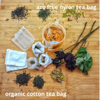 Reusable Tea Bag / Kain Kantong Teh celup (Perpiece)