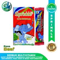 Sprinkle Serbuk Multivitamin - Rasa Plain - Rasa Beef - Isi 5 Sachet