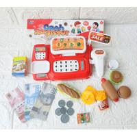 Mainan Kasir Kasiran Anak Cash register LK 20 Suara